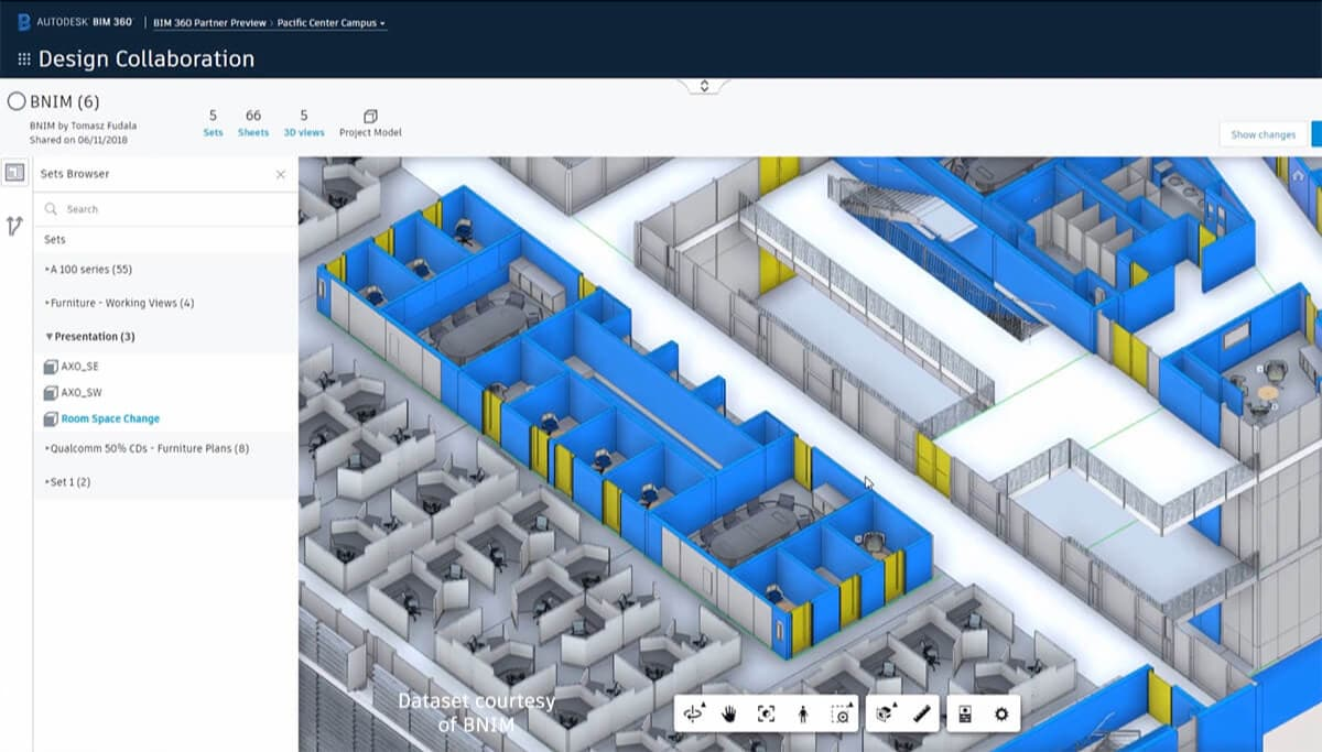 Visualise design changes to reduce rework and downstream construction delays